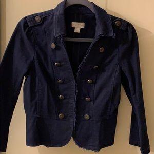 Loft Navy Blue Jacket SZ SP